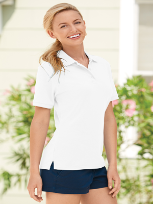 Jerzees Ladies 5.3 Ounce Easy™ Care Piquè Poly/Cotton Sport Shirt