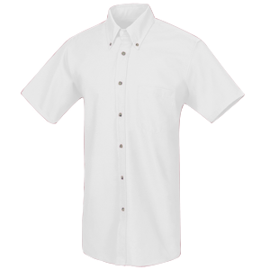 RedKap Men's 4.25 Ounce Short Sleeve Poplin Work Shirt